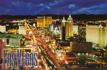 Las Vegas Postcard J0753