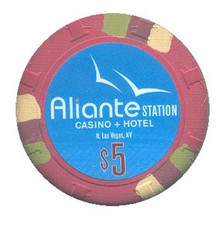 Aliante Station Las Vegas $5 Casino Chip