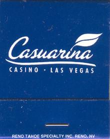 Casuarina Las Vegas Match Book