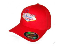 Welcome To Las Vegas Reebok Red Cap