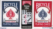 Bicycle Playing Cards Rider Back Blue Red Decks