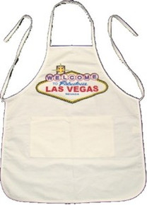 Las Vegas Sign Cooking Apron