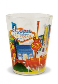 Las Vegas Skyline Shot Glass