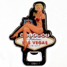 Las Vegas Showgirl Bottle Opener