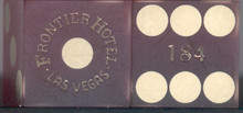 Frontier Hotel Las Vegas Vintage Dice