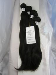 "12""14""14""16"" 4 Bundles Unprocessed 100% Virgin Brazilian Natural Wave Human Hair Weave Extensions"