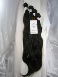 "16""18""20""22"" 4 Bundles Unprocessed 100% Virgin Brazilian Natural Wave Human Hair Weave Extensions"