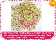 1000 PreBond Human Hair Extension Micro Ring Link-Blonde