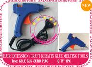 Prebond Human Hair Extensions Keratin Melt Glue Gun-Euro plug