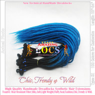 """75pieces CUSTOM MADE Color A1~T60 of 100 Colors High Quality 20""""-24"""" Ombre Dreadlocks Synthetic Fiber Hair Extensions-FREE Shipping"""