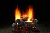 "Hargrove Classic Oak Vented Log Set 24"""