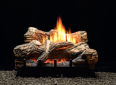 "Empire Flint Hill Gas Log Set with Vent-Free/Vented Contour Burner 18"" Millivolt"