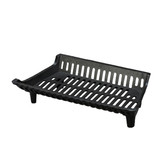 G Series Franklin 22 in. 'Flat Bottom' Cast Iron Fireplace Grate