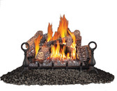 GVFL FIBERGLOW™ VENT FREE GAS LOG SET 24""