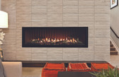DVLL60BP90 Boulevard Direct-Vent Linear Contemporary Fireplace 60""
