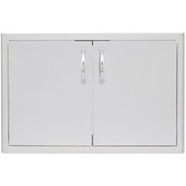 BLZ-AD32-R Blaze 32 Inch Double Access Door With Paper Towel Dispenser