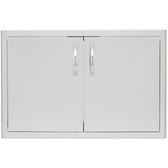 BLZ-AD32-R Blaze 32 Inch Double Access Door With Paper Towel Dispenser