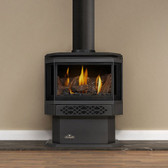 Good things do come in small packages! If you have limited space but still desire the beauty and convenience of a gas stove… the Napoleon Haliburton™Gas Stove is the answer! Offering a variable heat range up to as much as 30,000 BTU's, this stove may be compact in stature, but not in power!