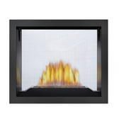 The first See-Thru fireplace in the industry to offer such dynamic choices for firebox design options. The Napoleon High Definition™ 81 Gas Fireplace features exclusive NIGHT LIGHT™ that radiates a warm glow into the room(s) even when the fireplace is off and a split burner system that produces beautiful YELLOW DANCING FLAMES®. Besides supplying two rooms with exceptional focal points, the High Definition 81 also offers the choice of a traditional PHAZER® log set, a modern CRYSTALINE™ ember bed or a glowing river rock setting. One fireplace, two rooms, exceptional views!