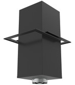 Black Cathedral Ceiling Support  6SPBCCS