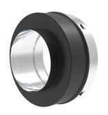Black Single Wall Pipe Adapter  6SPBSWA
