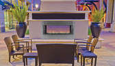 "43""Linear Outdoor Fireplace Electronic VRE4543"