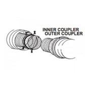 "3"" x 5"" coupler kit W175-0271"