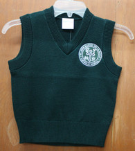 Youth Sweater Vest- De La Salle