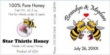 Personalized Honey Straw