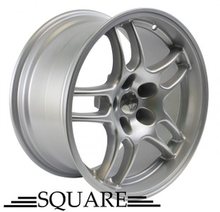 SQUARE Wheels G33 Model - 17x9 +15 5x114.3