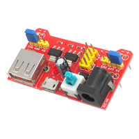 Breadboard Power Supply 5V/3.3V Dual Voltage