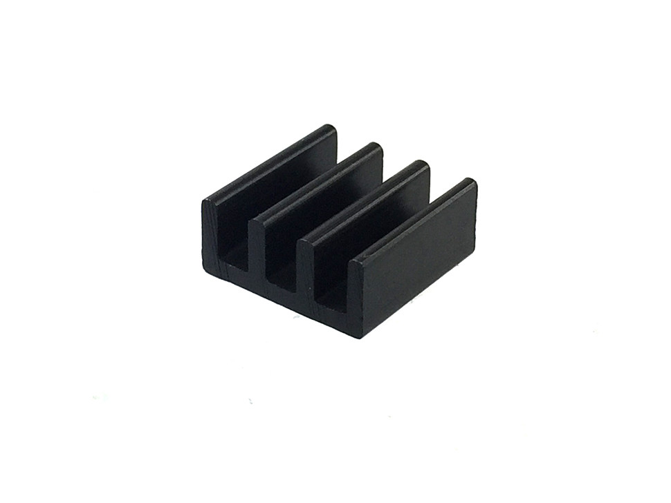 Aluminium Heat Sink for Raspberry Pi Zero (Black)
