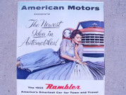 1955 Rambler American Motors brochure catalog