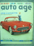 1956 Corvette,1956 Cadillac Packard Imperial Comparative tests