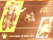 1957 BMW motorcycle brochure catalog