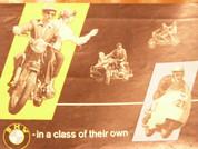 1957 BMW motorcycle brochure catalog