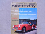 1957 Sports Car Annual Directory