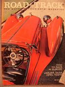 1958 Jaguar XK 150 Opel Saab GT1934 Alfa 2.3