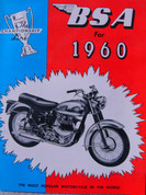 1960 BSA motorcycle 125 175 250 500 650
