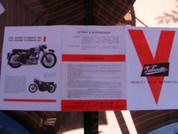 1963 Velocette sales brochure catalog pamphlet VENOM MSS VIPER LE