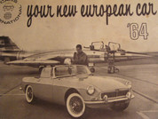 1964 cars international brochure