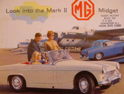 1964 MG Midget Mark 2 sales brochure catalog