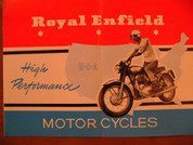 1964 Royal Enfield  750 Interceptor brochure catalog