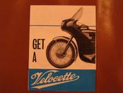 1965 Velocette brochure catalog