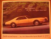 1966 Oldsmobile Toronado Starfire 442 brochure catalog