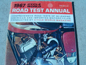 1967 Cycle World road test annual