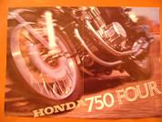 1969 Honda 750 sand cast brochure catalog