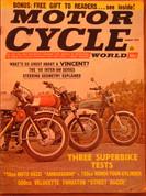 1969 Velocette Thruxton Honda 750 Moto Guzzi 750 Vincent Black Shadow