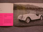 1970 Morgan sales brochure catalog +8 & 4/4