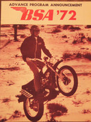 1972 BSA motorcycle